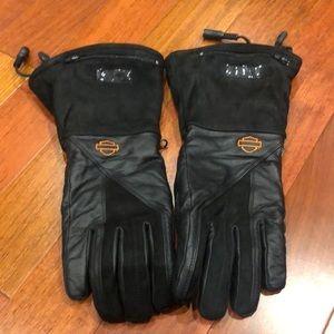 Ladies Harley-Davidson heated gloves size M